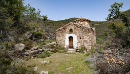 Die byzantinische Kapelle der Panagitsa aus dem 11-12 Jahrhundert ist eine der ältesten Kapellen auf Methana. (c) Tobias Schorr