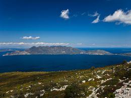 Blick auf die Halbinsel Methana