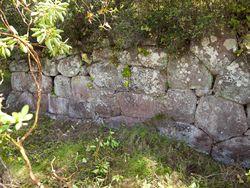 Polygone Mauern eines geometrischen Tempels bei Kounoupitsa/Methana (c) Tobias Schorr