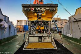 "Der Meeresroboter (ROV) PHOCA des Meeresforschungszentrums ""GEOMAR Helmholtz"", (c) Christoph Beier, FAU"