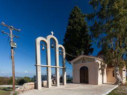 Die Agia Barbara-Kirche bei Kounoupitsa. (c) Tobias Schorr 2015