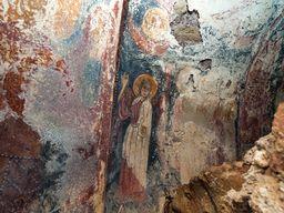 Fresken in der Kapelle Agios Dimitrios. (c) Tobias Schorr, November 2015