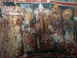 Papanti-Freske in der Kapelle Agios Dimitrios. (c) Tobias Schorr, November 2015