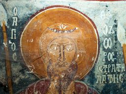 Der Helige Theodoros in der Kapelle Agios Dimitrios. (c) Tobias Schorr, 2015