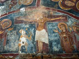 Jesus in der Kapelle Agios Dimitrios. (c) Tobias Schorr, November 2015