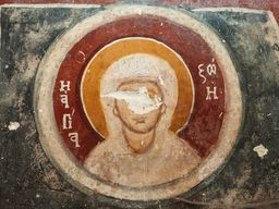 Heiligenbild in der Kapelle Agios Dimitrios. (c) Tobias Schorr, November 2015