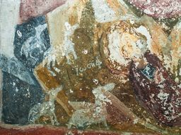 Der Heilige Josef in der Kapelle Agios Dimitrios bei Kounoupitsa. (c) Tobias Schorr, November 2015