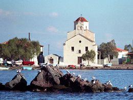 Agios Georgios und Möwen, 1991