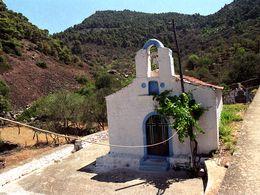 Die Kapelle Agios Joannis in Kameni Chora. (c) Tobias Schorr