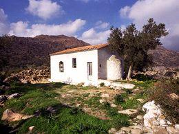 Die Kirche Agios Konstantinos & Elenis bei Methana. (c) Tobias Schorr 1991