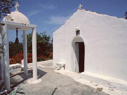 Die Agios Nikolaos-Kapelle bis 1993. (c) Tobias Schorr