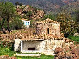 Die Kapelle Agios Nikolaos bei Vathy. (c) Tobias Schorr 1991