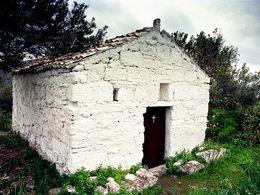 Die Kapelle Profitis Ilias bei Vathy. (c) Tobias Schorr 1991