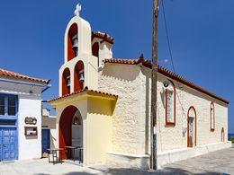 Die Kirche Agios Dimitrios in Agii Theodrorii. (c) Tobias Schorr