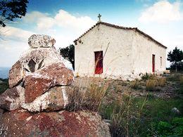Die Kapelle Zoodochos Pigis bei Agios Georgios. (c) Tobias Schorr 1990