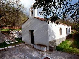 Die Kapelle Agia Eleousa bei Vathy. (c) Tobias Schorr 1991