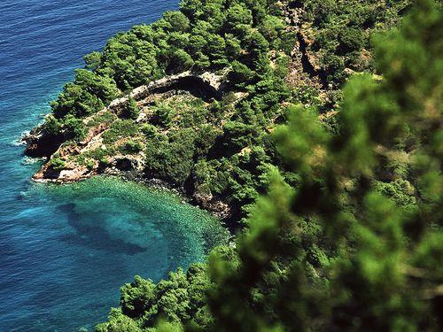 Der kleine Vulkan Agios Andreas