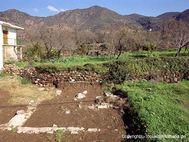 Antike Reste in der Nähe der Akropolis, die überbaut wurden. (c) Tobias Schorr