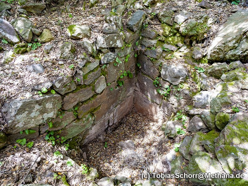 The mysterious, ancient building on the Chelona plateau. (c) Tobias Schorr 2008