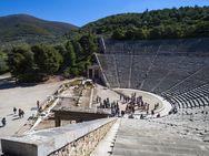 Besuch des antiken Theaters von Epidaurus