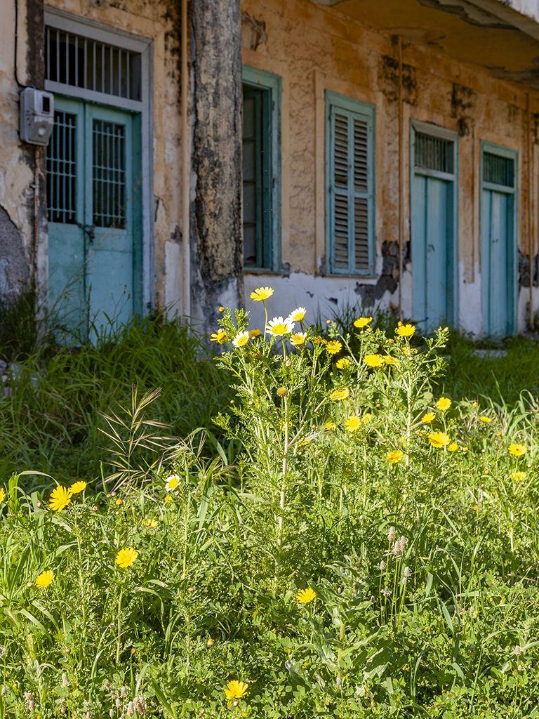 Die Fassade des Hotels Aithra. (c) Tobias Schorr