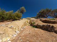 Das mykenische Kuppelgrab bei Galatas