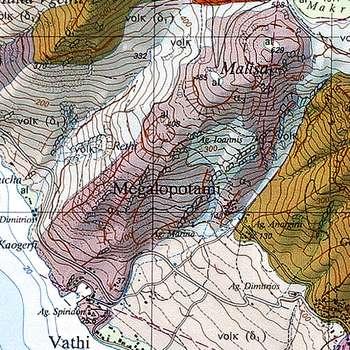 Geologische Karte des Malisa-Vulkans (c) ETH-Zürich