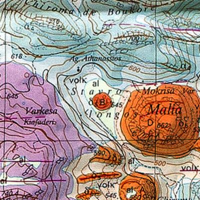 The geological map by the Swiss university (c) ETH-Zürich