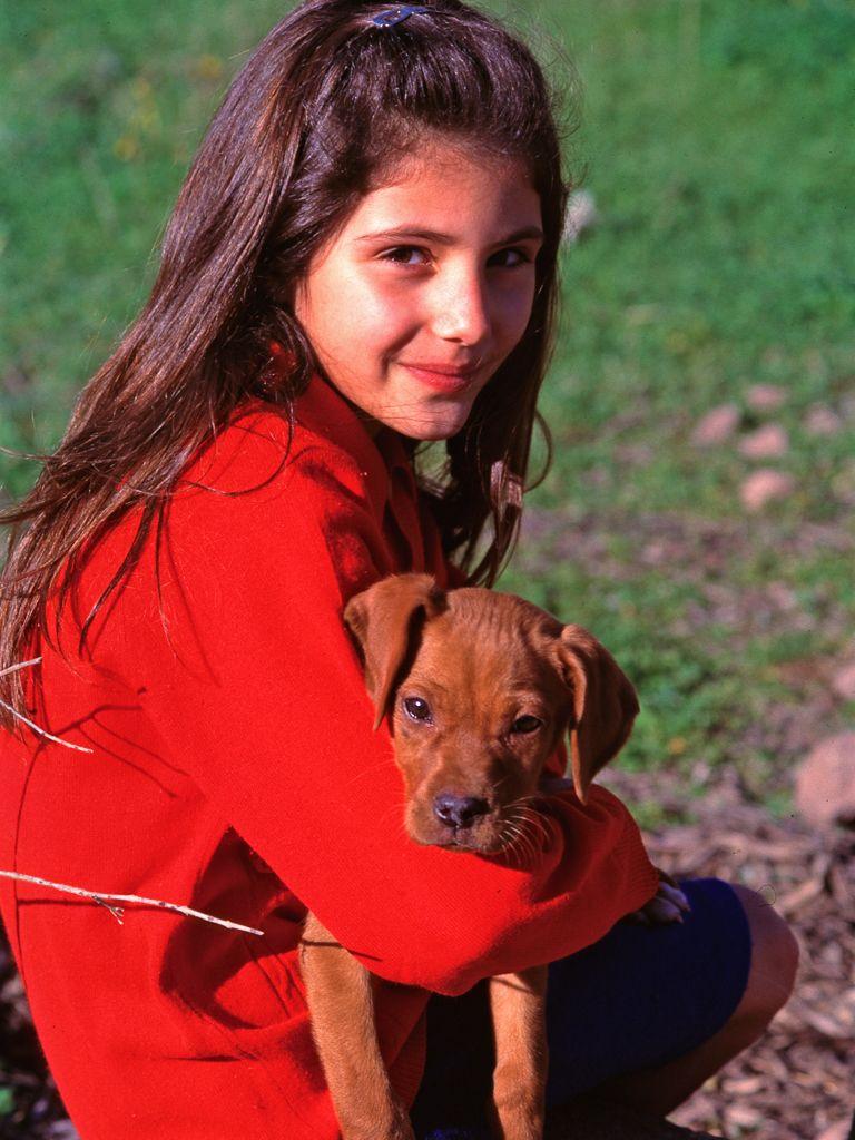 Ein Mädchen aus Methana (ca. 1996) (c) Tobias Schorr