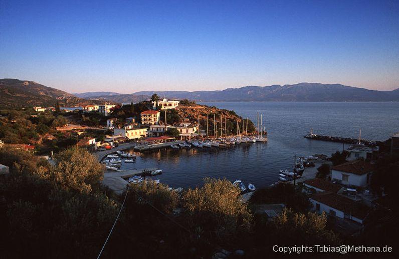 Der Fischerhafen von Vathy