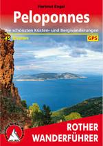 """Titelblatt von Hartmut Engel """"Peloponnes"""" - die schönsten Wanderungen"""