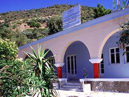 Das Heilbad am Ostende der Stadt Methana - Agios Nikolos