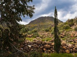 Blick von der Thiafi-Bucht zum Kossona-Lavadom. (c) Tobias Schorr