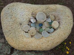 Glaskiesel aus der Thiafi-Bucht. (c) Tobias Schorr