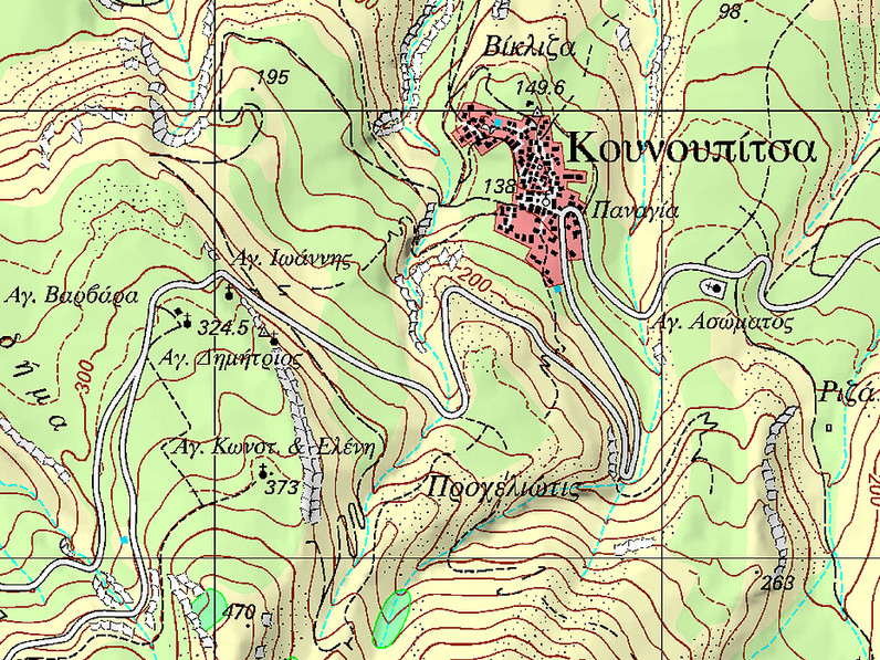 The location of the village Kounoutpitsa. (c) Tobias Schorr