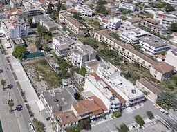 Luftbild von Methana mit dem Hotel Aithra. (c) Tobias Schorr