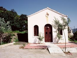 Die Kapelle Agii Anargyrii bei Megalopotami. (c) Tobias Schorr