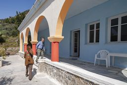 Die Heilbäder Agios Nikolaos wurden nach dem 2 Weltkrieg mit den Mitteln des Marshal-Plans aufgebaut. (c) Tobias Schorr