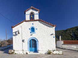 Die Panagia-Kirche in Makrylongos. (c) Tobias Schorr 2018