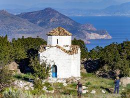 Die Kapelle Agios Konstantinos & Elenis bei Kounoupitsa. (c) Tobias Schorr
