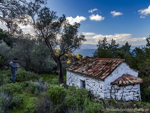The chapel of Agios Andreas near Kameni Chora village. (c) Tobias Schorr
