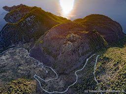Der Lavadom von Kameni Chora brach etwa 270 v.Chr. aus. Kameni Chora / Methana. (c) Tobias Schorr
