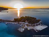 Die Halbinsel Nisaki bei Sonnenaufgang. Methana 2016. (c) Tobias Schorr
