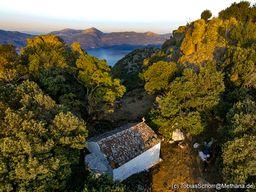 Am 21 Juli pilgern die Bewohner der Dörfer Methanas zur Kapelle Profitis Ilias. (c) Tobias Schorr