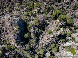 Die eindrucksvollen Gipfelfelsen des Lavadoms. (c) Tobias Schorr