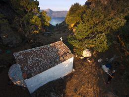 The little chapel of Profitis Ilias. June 2016. (c) Tobias Schorr