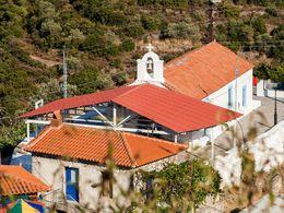 Die Kapelle Panagia in Palia Loutra. (c) Tobias Schorr