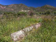 Antiker Mauerrest in den Feldern östlich der Akropolis (c) Tobias Schorr