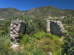 Römisches (?) Gebäude in der Umgebung der Akropolis