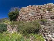 Blick aus dem Westen auf die Mauer der Akropolis (c) Tobias Schorr